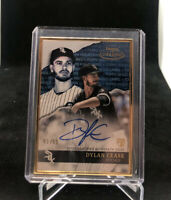2020 Topps Gold Label DYLAN CEASE #/50 SP Gold Framed Rookie Auto RC White Sox