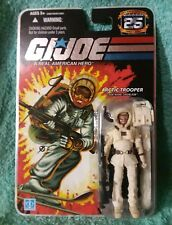 SNOW JOB Arctic Trooper I GI joe 25th anniversary 1st release foil card figure