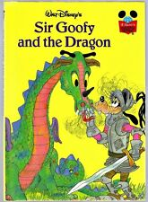 Disney's Wonderful World Of Reading Book ~ SIR GOOFY AND THE DRAGON