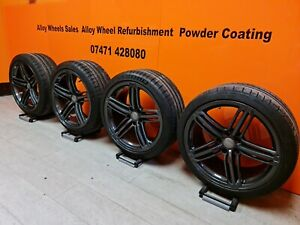 """Genuine Audi 19"""" Segment Alloy Wheels A5 S5 A4 A6 A7 IMMACULATE CONDITION & PS4s"""
