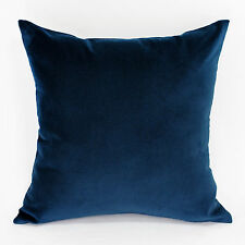 Large Velvet Navy Cushion Cover - 55x55cm