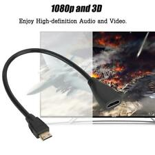 Mini HDMI (Type C) Male to HDMI (Type A) Female Adapter Cable For HDTV 1080P