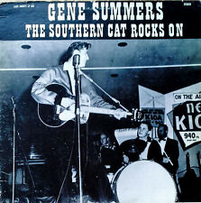 GENE SUMMERS - THE SOUTHERN CAT ROCKS ON - LAKE COUNTRY LBL - SWISS LP - 1975