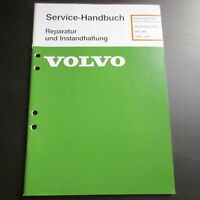 Volvo 340 360 Werkstatthandbuch Technische Daten 1976-1987 f. Motor Elektrik etc