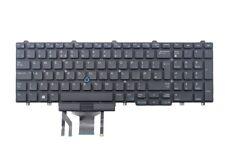 UK Backlit Keyboard Dell FP37Y for E5570