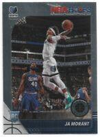 2019-20 Panini NBA Hoops Premium Stock JA Morant Card #259 Memphis Grizzlies