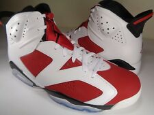 Nike Air Jordan Retro 6 VI Carmine White Red Black Infrared SZ 14 (384664-160)