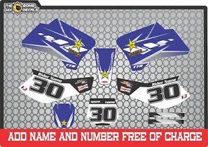 TTR90 graphics decals to fit  Yamaha ttr90 ttr 2000-2012 set2
