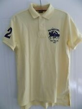 More details for vintage retro polo ralph lauren new york 1967 shirt jersey top golf mens yellow