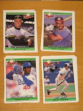 1992 Donruss Rookies 30 Card Lot Manny Ramirez Tim Wakefield Pedro Martinez Kent