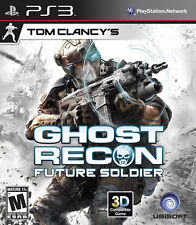 PS3 Tom Clancy's Ghost Recon Future Soldier (PlayStation 3) exclusive *bonus DLC