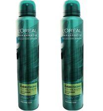 2 x Loreal Paris Hair Expertise Everstrong Texture Spray 200ml 100% Brand New