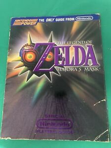Nintendo 64 N64 The Legend ofZelda: Majora's Mask Player's Strategy Guide