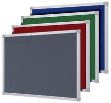 More details for felt notice boards wooden + aluminium frames 900 x 600 + 1200 x 900 mm free del