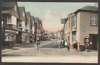 Postcard Lyndhurst New Forest Hampshire the High Street by FGO Stuart 448
