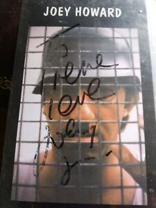 JOEY HOWARD - TAKE NO PRISONERS VHS (SIGNED) (FREE P&P)