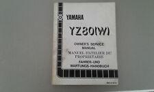 Service manual  YZ80