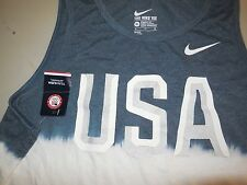 Nike USA 2016 Olympics Tank Top Shirt NEW NWT Brasil Team Running 801187 Mens XL