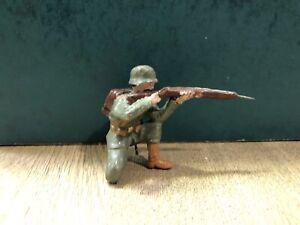 Elastolin: German WW1 Infantryman. 100mm Scale. Pre War c1918