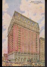 1919 Chicago Illinois Il Hotel La Salle Postcard