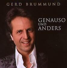 Gerd Brummund - Genauso Und Anders, Neu OVP, CD, 2008 !!