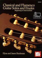 Classical and Flamenco Guitar Solos & Etudes TAB & Music Book/Audio/Video