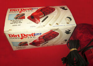 Nice Dirt Devil Plus Hand Vac 503 With Many Extras