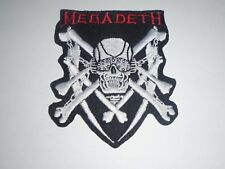 MEGADETH THRASH METAL IRON ON EMBROIDERED PATCH