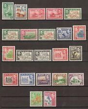 Fiji 1938-55 SG 249/66B MENTA GATTO £ 275