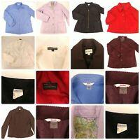 Lot 7 Size Large 12 14 Light Jackets Bulk Bundle Fall Spring Outerwear Black Red