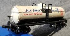 Atlas 2263 JACK FROST Cane Sugar 40' Tank Car HOKS 56555 BLT 10-37 RTR