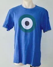 Ben Sherman Mens Printed T Shirt - BLUE- SIZES - S, L & XL - NEW