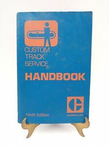Caterpillar Cat Custom Track Service Handbook Manual Ninth Edition PEKP9400
