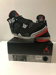 Air Jordan 4 IV Playoff Bred 2019 release US Mens size 13 DS with box