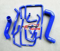 BLUE For SUBARU IMPREZA WRX/STI GDA/GDB EJ207 02-07 Silicone Radiator Hose Kit