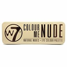 W7 Colour Me Nude Eye Colour Palette 15.6 g 12 Colours Natural Eyeshadow Palette