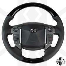 Black Piano Steering Wheel fits Range Rover Sport 2010+ interior upgrade leather