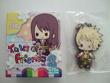 Guy Cecil Rubber Strap Key Chain Tales of The Abyss TOA Friends #2 KOTOBUKIYA