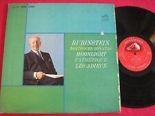 LP - BEETHOVEN SONATAS RUBINSTEIN PATHETIQUE - RCA VICTOR LIVING STEREO LSC-2654