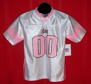NEW Indianapolis Colts GIRLS Pink & White NFL Jersey MEDIUM 10/12