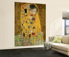 Gustav Klimt The Kiss Wall Mural Wallpaper Mural Sticker - 72x100