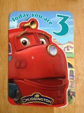 "'3rd Birthday' Chuggington Childrens Birthday Card - Trains -Age 3 - 6.75""x4.75"""