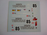DECALS KIT 1/43 NISSAN R89C 24h LE MANS 1980 DECAL DECALCOMANIA