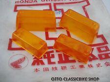Honda Dream 250 305 Lowbar C72 CA72 CS72 C77 CA77 CS77 , Lens Turn Signal Set