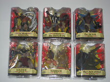 Spawn Series 33 Complete Set / Lot - RARE -  Warrior ISIS Crocodile King - #18