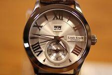 LOUIS ERARD 1931 GMT AUTOMATIC DATE 50M 82205 AA21 MEN'S WATCH