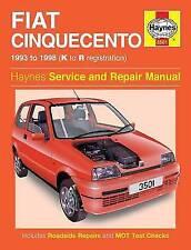 Fiat Cinquecento Haynes Car Service & Repair Manuals