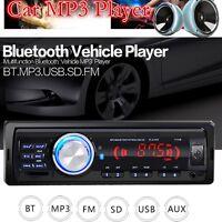 Bluetooth Car Radio Stereo Head Unit Player MP3/USB/SD/AUX In-dash 1-Din 1131B