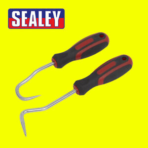 Sealey VS352 2 Piece Hook / Pick Tool Set for Hose Clamp & O Ring Removal