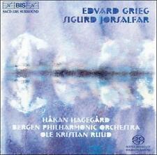 Edvard Grieg: Sigurd Jorsalfar Super Audio Hybrid CD (CD, Mar-2004, BIS (Sweden)